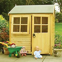 Shire Bunny Entry Level Timber Playhouse - 4 x 4 ft