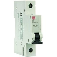 Click to view product details and reviews for Wylex Type B Miniature Circuit Breaker Mcb 6a.