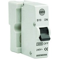 Wylex Type B Plug-In Mini Trip Circuit Breaker 10 Amp