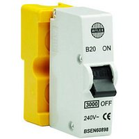 Click to view product details and reviews for Wylex Type B Miniature Circuit Breaker Mcb 20a.