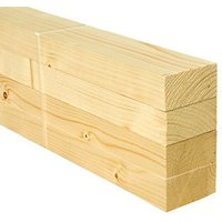 Wickes Whitewood PSE 34 x 69 x 2400mm Pack 4