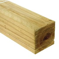 Wickes Treated Sawn Timber - 19 x 100mm x 1.8m Pack of 5