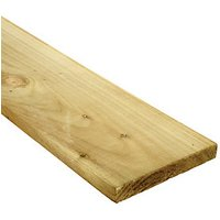 Wickes Treated Timber Gravel Board 19mm x 150mm x 1.83m