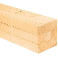 Wickes Redwood PSE 34 x 34 x 2400mm Pack 9