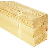 Wickes Redwood PSE Timber - 44 x 94 x 2400 mm Pack of 3