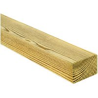 Wickes Treated Kiln Dried C16 Timber - 45 x 70 x 3000 mm