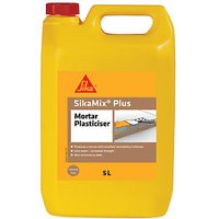 Click to view product details and reviews for Sika Mix Plus Mortar Plasticiser 5l.
