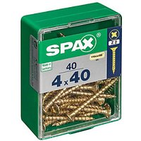 Click to view product details and reviews for Spax Universal Zinc Yellow Screws 4 X 40mm Pack Of 40.