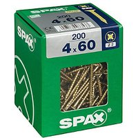 Click to view product details and reviews for Spax Universal Zinc Yellow Screws 4 X 60mm Pack Of 200.