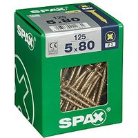 Click to view product details and reviews for Spax Universal Zinc Yellow Screws 5 X 80mm Pack Of 125.