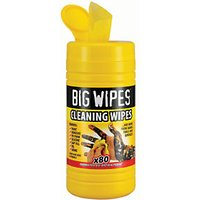 Big Wipes Multi-purpose Cleaning Wipes Tub of 80