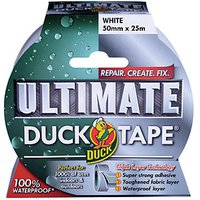 Duck Tape Ultimate White 50mm x 25m