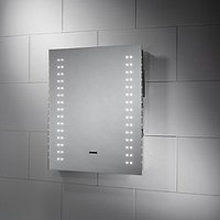 'Wickes Antarctic Bluetooth Led Bathroom Mirror - 500mm
