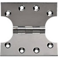 Wickes Parliament Hinge Polished Chrome Plated 102mm 2 Pack