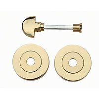 Wickes Thumbturn & Release Polished Brass Finish 52mm