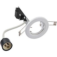 Wickes White Fixed Downlight - Pack of 10