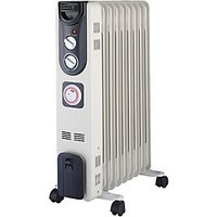 Wickes Electric Oil Filled Thermostatic Radiator   2kW
