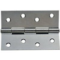 Wickes Butt Hinge Steel 102mm 2 Pack