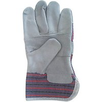 Wickes Standard Rigger Gloves Grey One Size