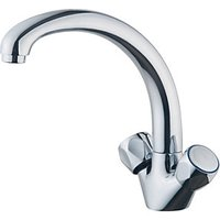 Wickes Trade Mono Mixer Kitchen Sink Tap Chrome