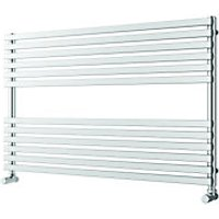 Wickes Invent Square Horizontal Designer Towel Radiator - Chrome 600 x 1000 mm