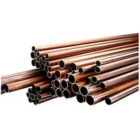 Wickes Copper Tube 22mm x 3m Pack 10
