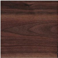 Wickes Wood Effect Laminate Upstand - Romantic Walnut 70 x 12mm x 3m