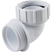 Osma HepVO CV11 Waterless Waste Knuckle Adaptor White   40mm