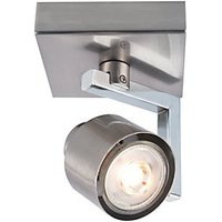 Wickes Boulevard LED Brushed Chrome Single Spotlight - 5.3W