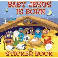 'Baby Jesus Is Born Sticker Book