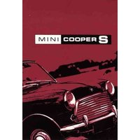 'Mini Cooper S Owners Handbook: Part No: Akd7364/2