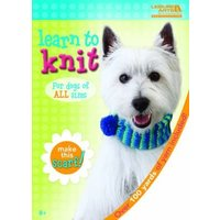 'Learn To Knit: Dog Scarf Kit