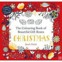 'The Colouring Book Of Beautiful Gift Boxes: Christmas