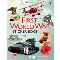 'First World War Sticker Book