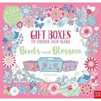 'Gift Boxes To Colour And Make: Birds And Blossom