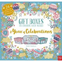 'Gift Boxes To Colour And Make: A Year Of Celebrations