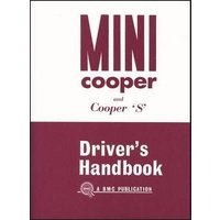'Mini Owner's Handbook: Mini Cooper & Cooper `s' Mk 1: Part No. Akd3891