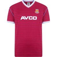 West Ham United 1986 Retro Football Shirt