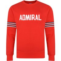 Admiral 1974 Red England Sweatshirt
