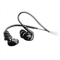 MEElectronics M6 Stylish Sound Isolating Sports Headphones Colour CLEAR