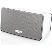 SONOS PLAY:3 Wireless HiFi System - Immersive HiFi Sound. Serious room-filling power Colour White