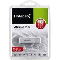 Intenso USB Drive Ultra Line 16GB USB 3.0 Stick silber