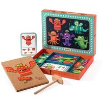 Djeco Monsters Tap Tap Art One Size