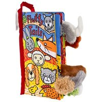 Jellycat Fluffy Tails Book One Size