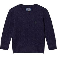 Ralph Lauren Navy Wool Cable Knit Jumper 4 years
