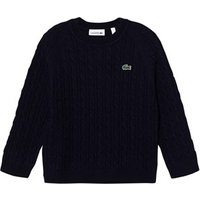 Lacoste Navy Cable Knit Jumper 10 years
