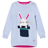 Joules Blue Bunny in a Hat Knit Dress 1 year