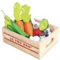 Le Toy Van Vegetables 5 a Day Toy Crate One Size (3 years)