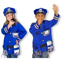 Melissa amp Doug Police Officer Role Play Costume Set 3  6 years