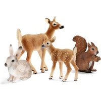 Schleich Plastic Woodland Animals Play Set 3  10 years